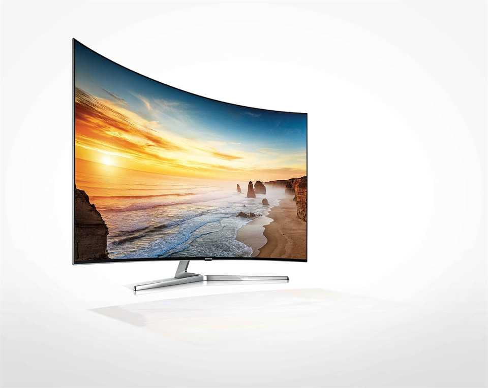 Samsung Quantum Dot TV curved