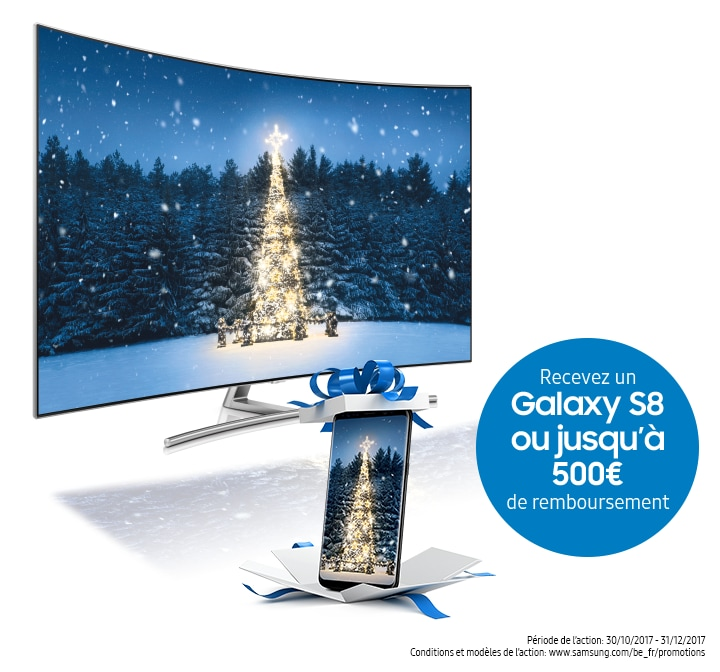 Promotion QLED TV Galaxy S8