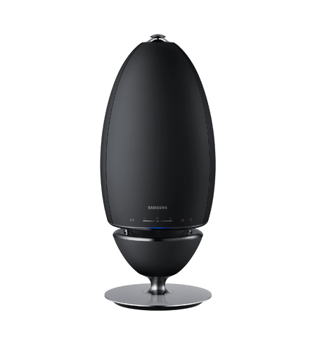 Samsung Wireless Áudio Multiroom 360º visto de frente