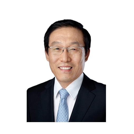 This image is a profile picture of Ki Nam Kim, CEO, Samsung Electronics.