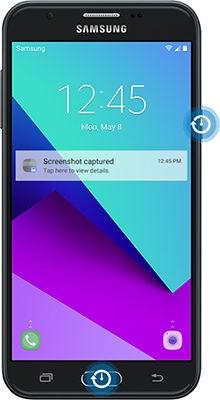 Galaxy J3 Prime - Take a Screenshot (SM-J327W) | Samsung