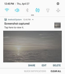 how to take screenshots on my samsung