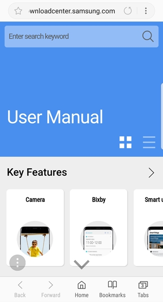 Galaxy S9 - Access the User Manual (SM-G960W) | Samsung