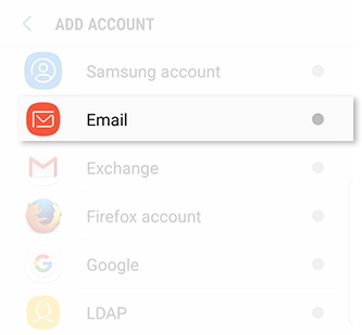 Galaxy S9 - How do I add accounts to my Samsung Galaxy S9 (SM-G960W)?