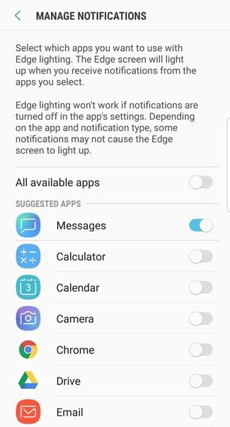 Galaxy S9 - Edge Lighting (SM-G960W) | Samsung Support CA