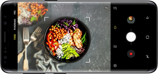 Galaxy S9 - Know your way around the camera of your Samsung Galaxy S9 (SM-G960W)
