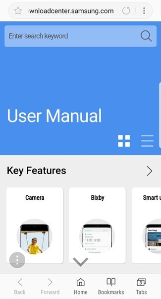 Galaxy S9 How Do I Access The User Manual On My Samsung Galaxy