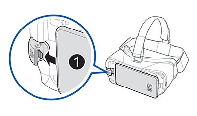 Gear VR - How do I connect my Samsung phone to my Gear VR with controller (SM-R325)?