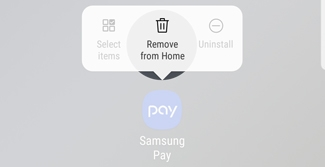 Galaxy S9 - Add Shortcuts to Your Home Screen or Remove Them (SM