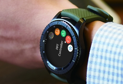 Galaxy Watch - Control PowerPoint Presentations with Your Watch (SM-R800 & SM-R810)