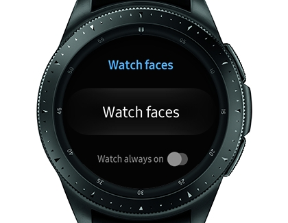 Watch Faces Settings