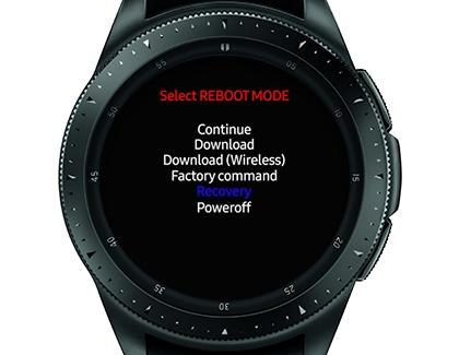 Galaxy Watch - Factory Reset Your Watch (SM-R800 & SM-R810
