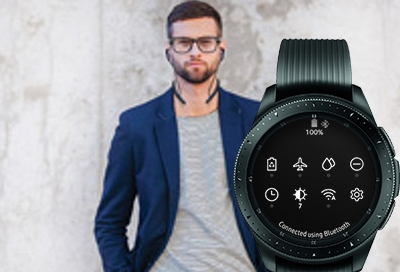 Galaxy Watch Manage Bluetooth Headset Sm R800 Sm R810 Samsung Support Ca