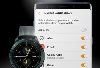 Galaxy Watch - Manage Notifications (SM-R800 & SM-R810)