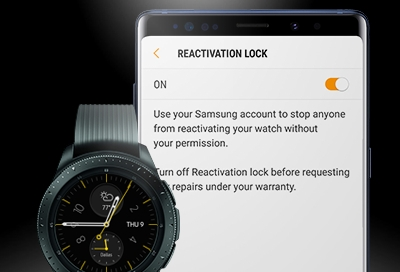 Galaxy Watch - Reactivation Lock (SM-R800 & SM-R810)