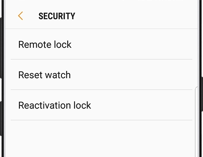 Reactivation Lock