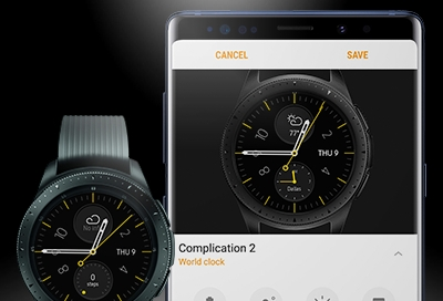 Galaxy Watch - Stay on Track with Digital Assistant on Your Watch (SM-R800 & SM-R810)