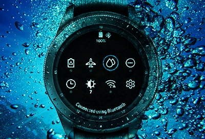 Galaxy Watch - Water and Dust Resistances (SM-R800 & SM-R810)