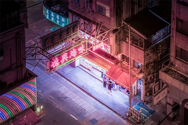 FIELD HK Night Street Corner (2017)