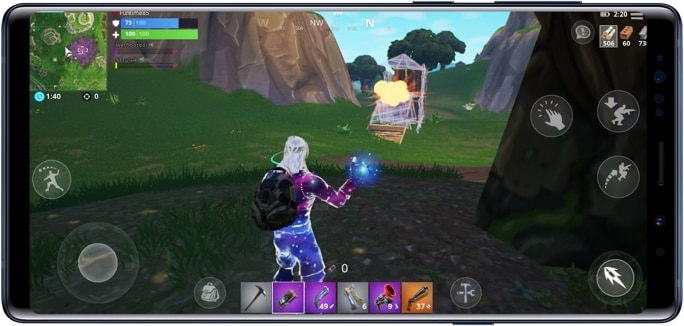 fortnite samsung strategie - fortnite tipps bauen