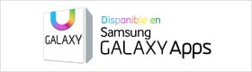 Banner de notificación de Galaxy App disponible para descarga