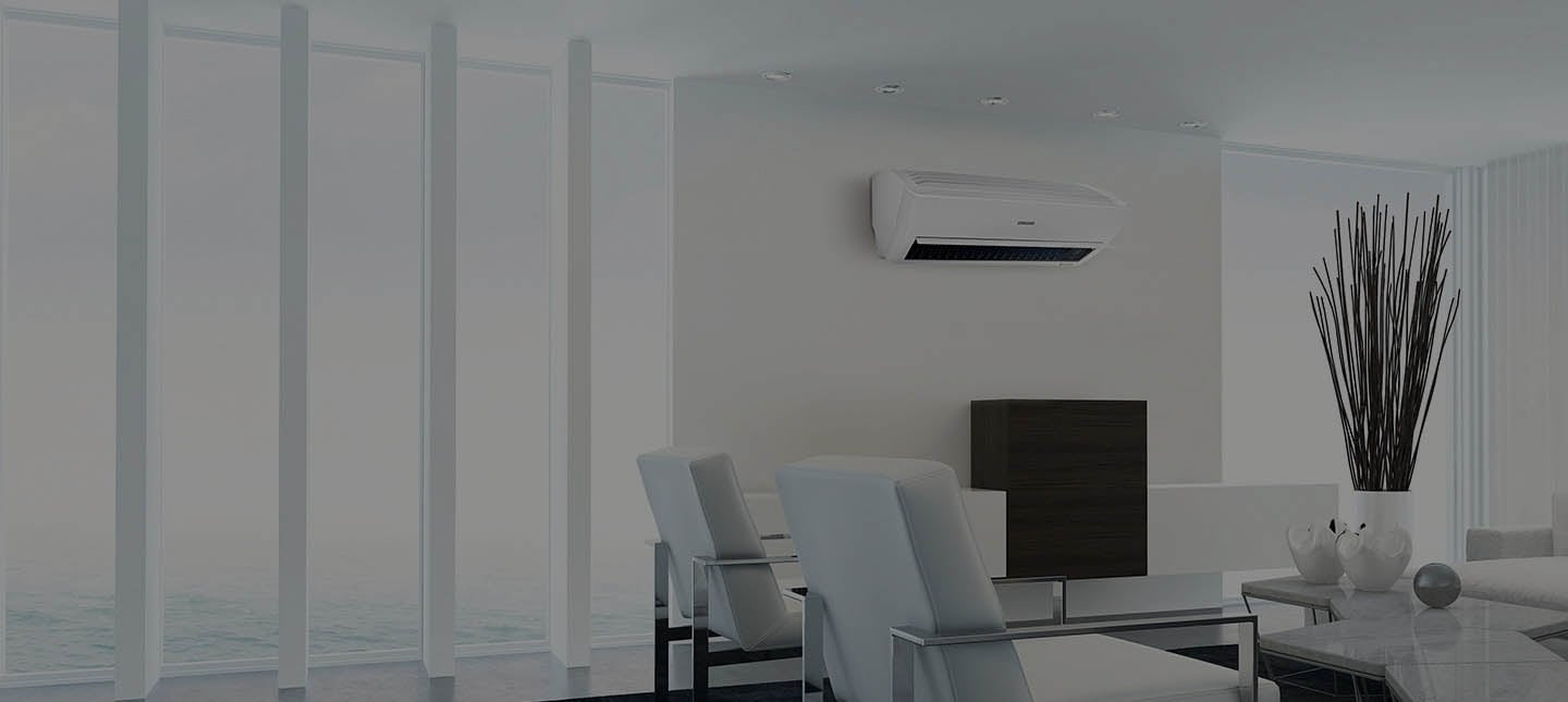 Aire acondicionado Air Care comercial con montaje de pared de Samsung