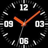 Esfera de reloj Intrepid en color naranja