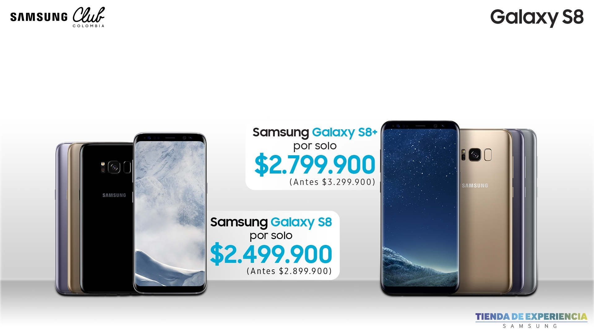 Galaxy S8 Samsung club