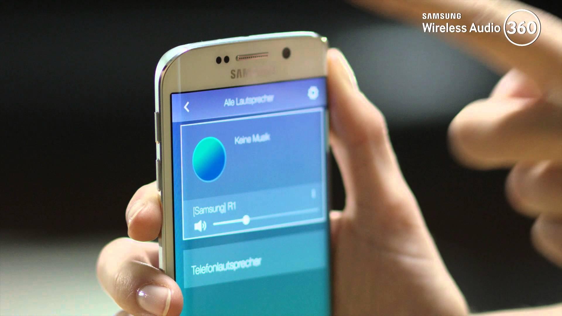 Musik drahtlos übertragen   Samsung DE