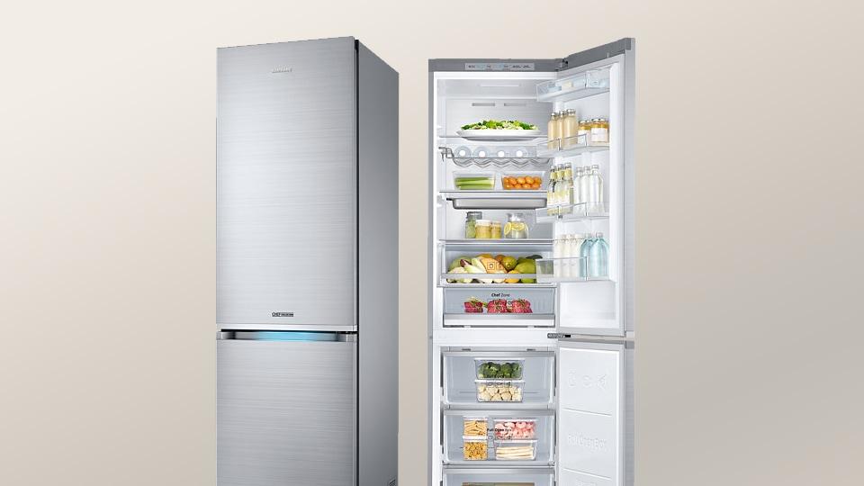 Kleiner Kühlschrank No Frost : No frost im kühlschrank samsung de