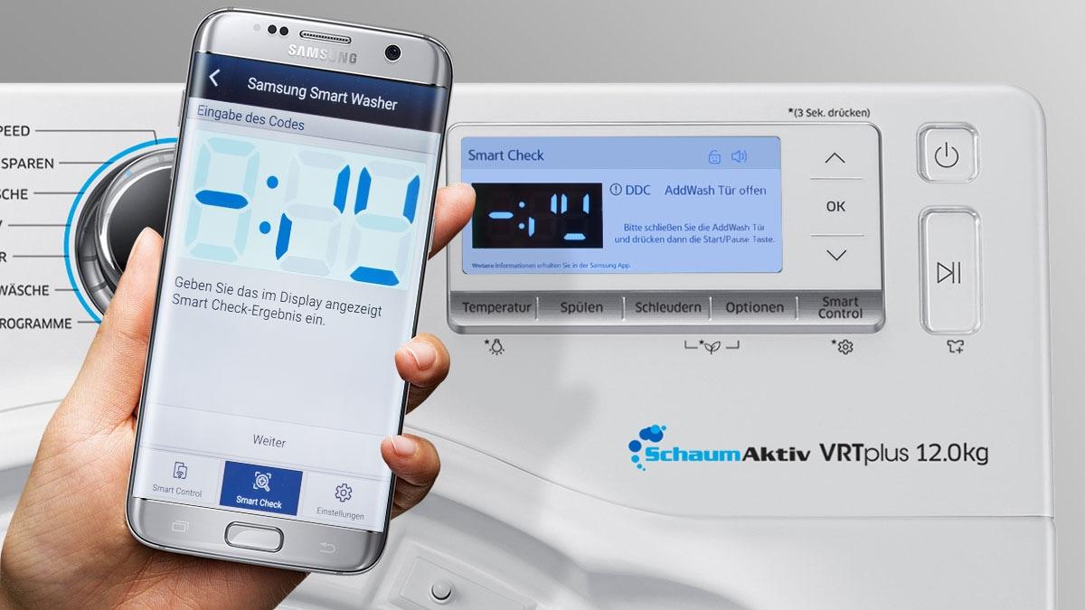 Smart-Check und der Samsung Service