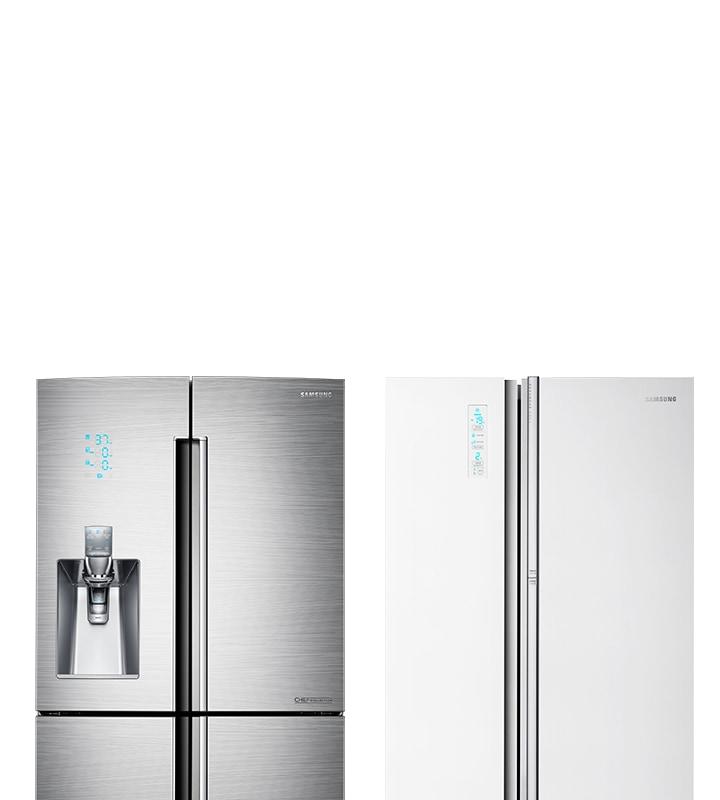 Side by Side Kühlschränke - modern & sparsam | Samsung DE