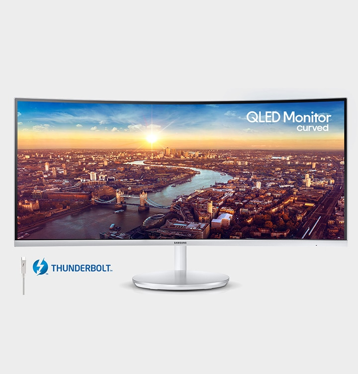 Samsung Wide Quad High Definition (WQHD) Monitore