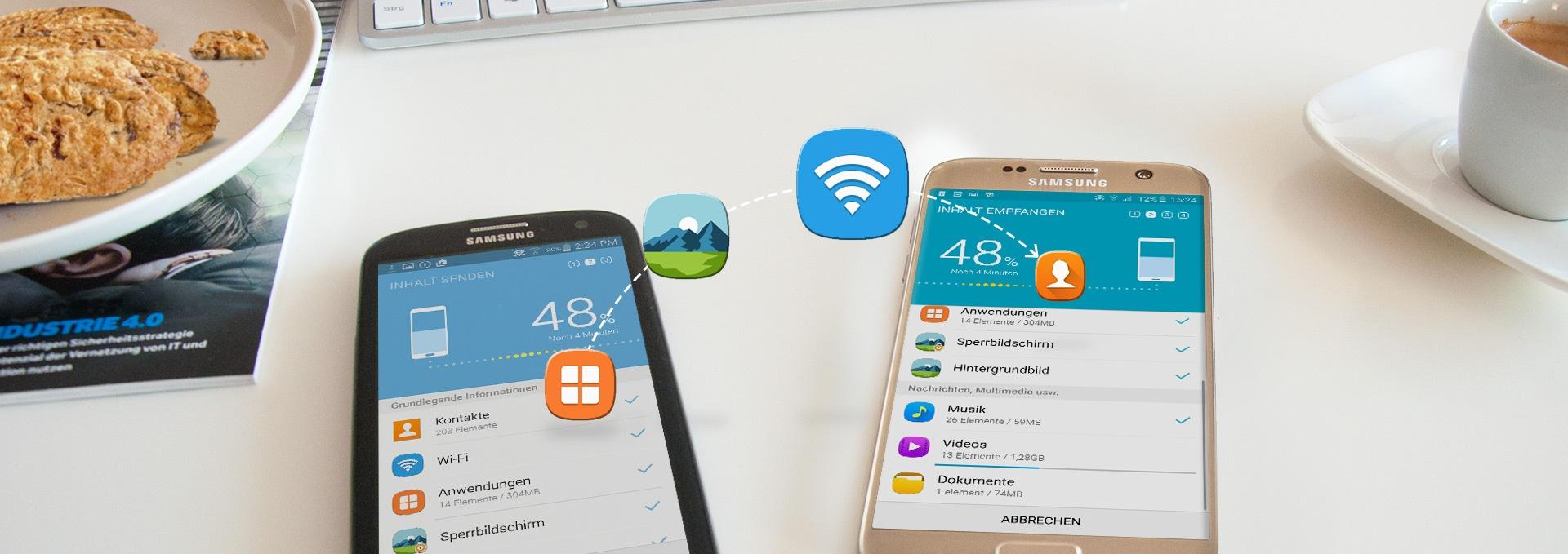 Galaxy-Smartphones: Update per Smart Switch durchführen