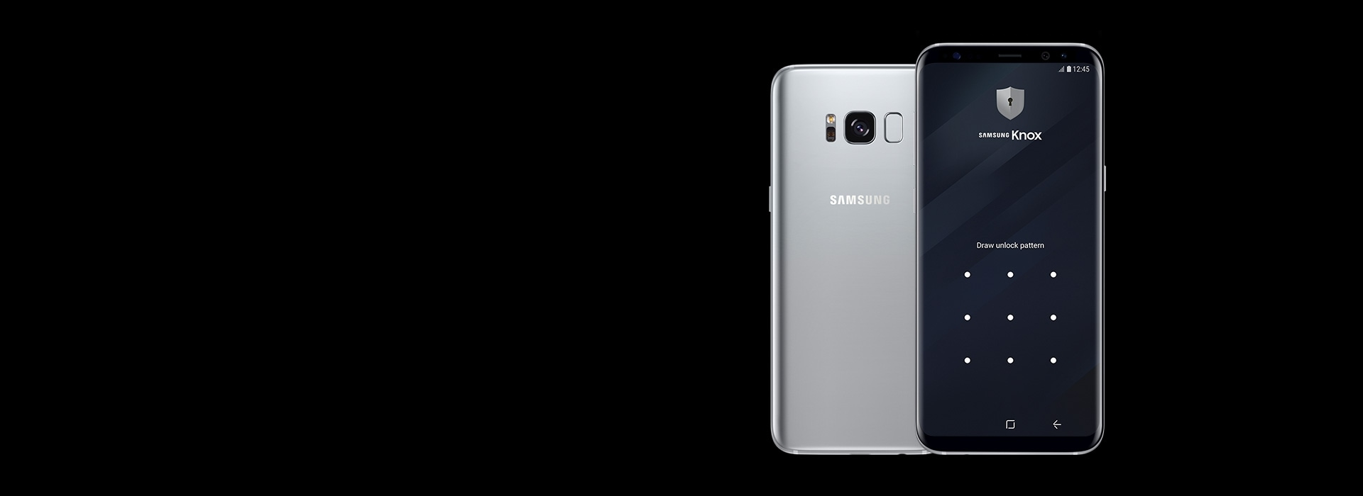 Galaxy S8 and Galaxy S8+ Silver