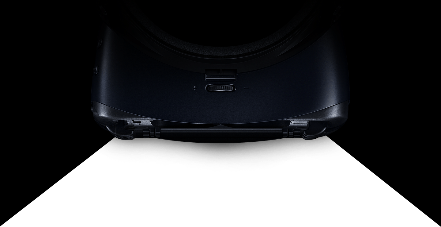 Gear VR seen from the top