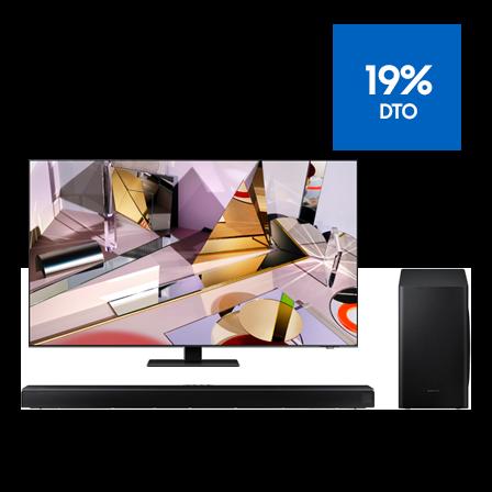 """TV QLED 8K Q700T 65"""" + Barra de Sonido Q800T"""