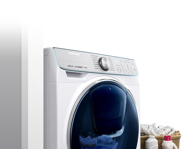 Lavadora quickdrive serie 8 10 kg ww10m86gnoa samsung for Funcion de la lavadora