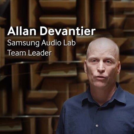 Salle de tests de l'AudioLab Samsung