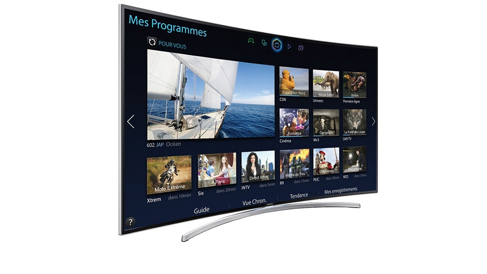 TV LED 65'', Incurvé, Full HD - UE65H8000