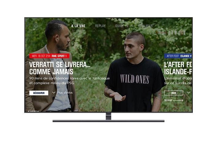 L Application Rmc Sport Smart Tv Samsung Fr
