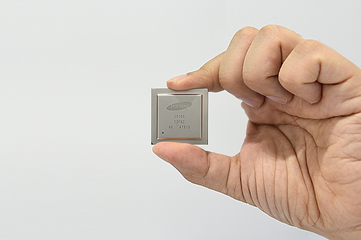Samsung's new 5G system on a chip (SOC) modem