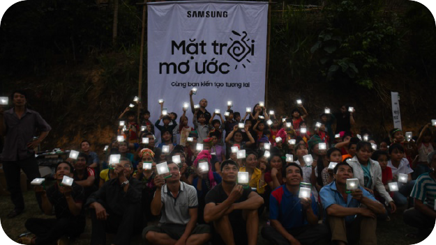 "A photo of ""Global Village Lights Off"" campaign"