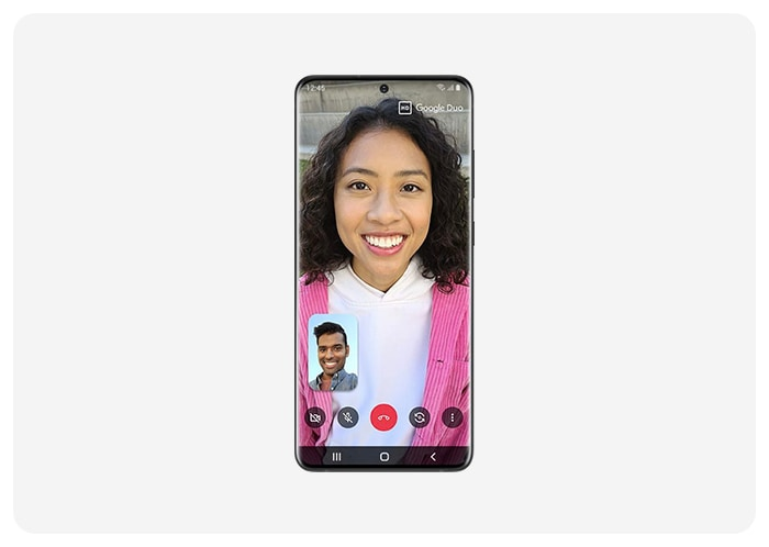 Google Duo on Galaxy S20
