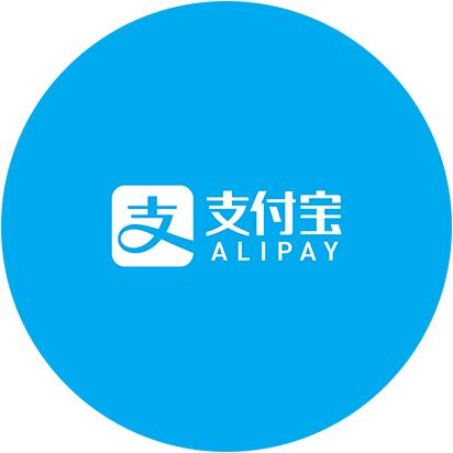 Interface graphique de l'application Alipay