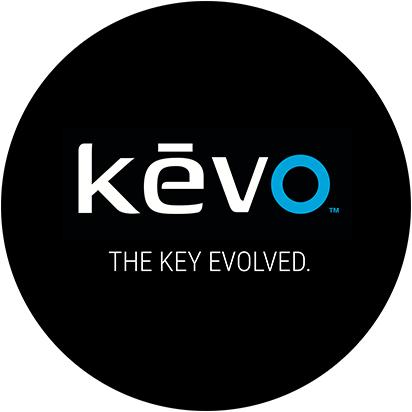 Benutzeroberfläche der Kevo by Unikey-App
