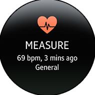 Interface graphique S Health