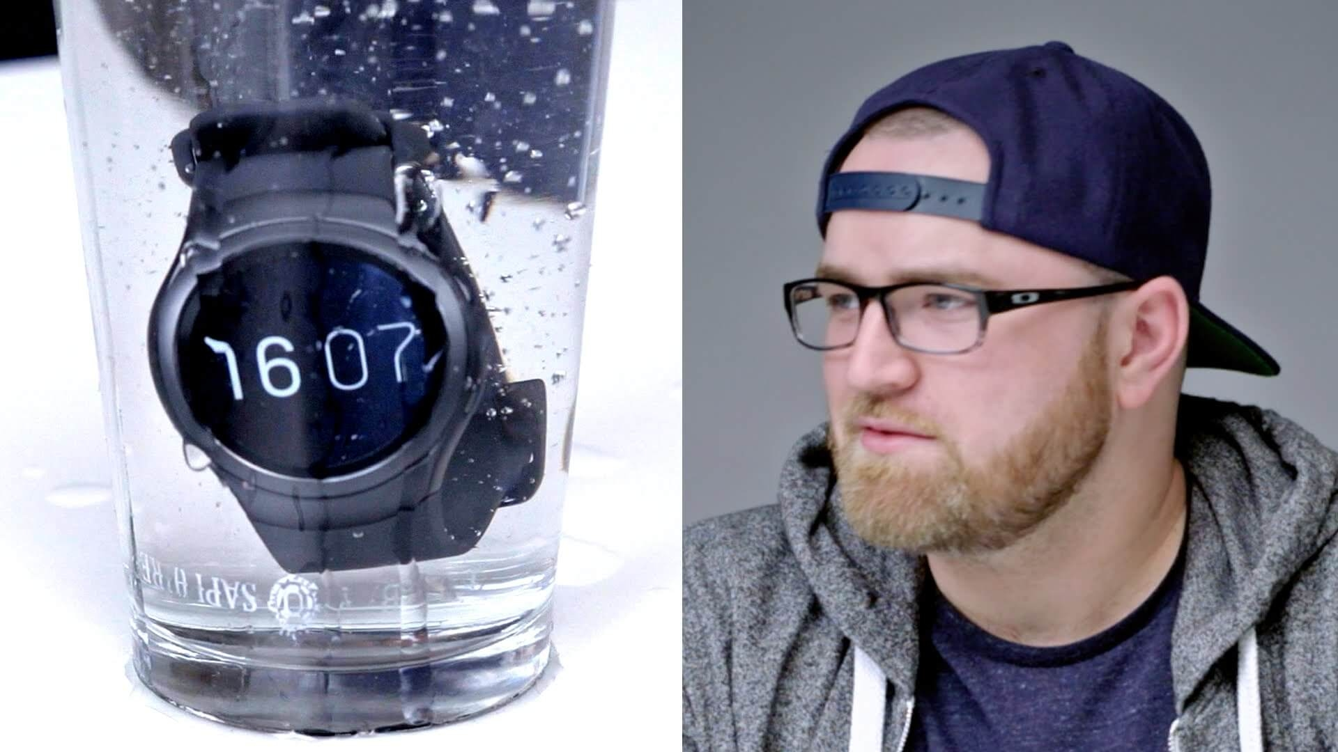 Samsung Gear S2 Hands On + Liquid Test