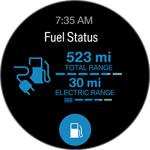 Screenshot 2 of BMW Connected app for Gear S3