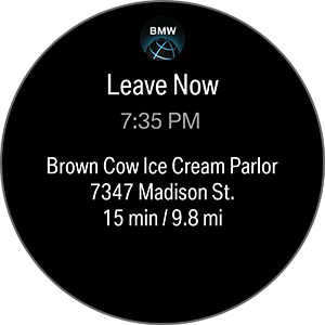 Screenshot 4 of BMW Connected app for Gear S3